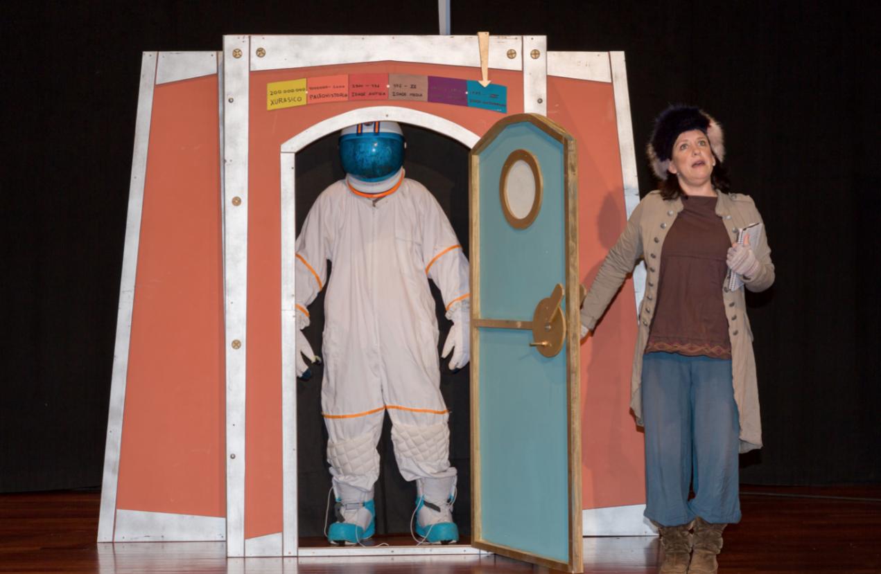 """Concello de Muras   """"A máquina do tempo"""", teatro para nen@s  """