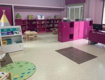 Concello de Muras | A biblioteca do colexio, espectacular |